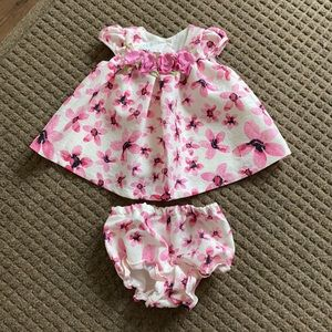 Gorgeous Baby Dress 0-3 NWOT